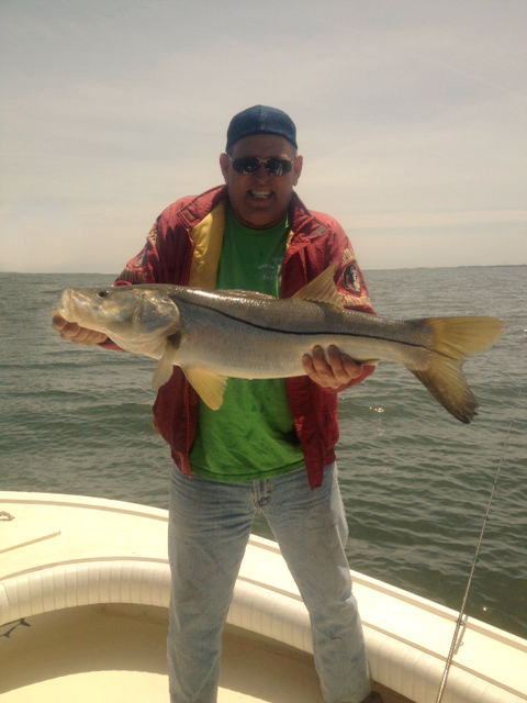 Bruce s lunker fun flats fishing tampa bay area for Private fishing charters nj
