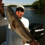 mark with redfish