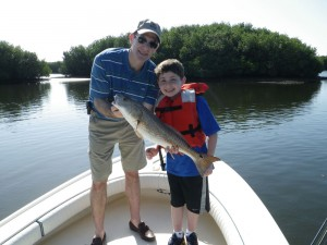 redfish caught by the mighty snook hunter