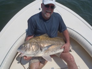 rick caught a big fish on a tampa bay charter